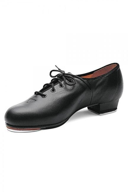 BLOCH Ladies Tap Shoes Jazz Tap Shoes Lace Up Low Heel Leather Upper S0301L