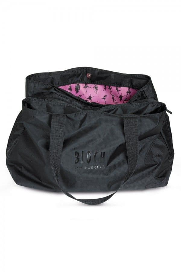 Bloch Multi Compartment Dance Bag Black with Pink Lining