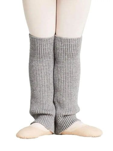 "CAPEZIO Girls Dance Ribbed Knit Legwarmers 12"" Warm Up CK10956C"