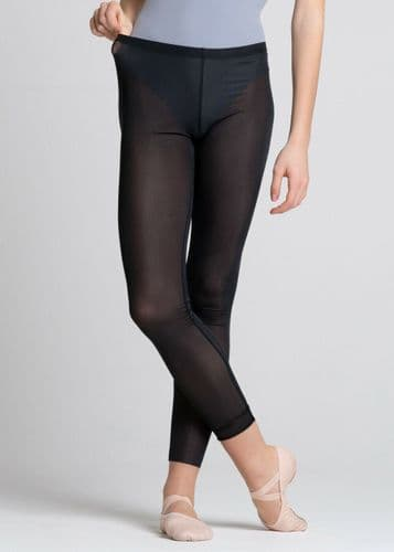 GRISHKO Ladies Sheer Mesh Dance Leggings Black Bolshoi Stars The Dream