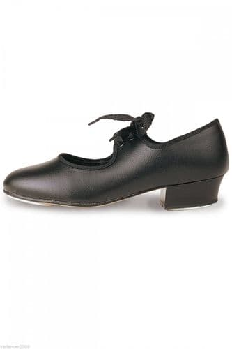 Roch Valley Tap Shoes Low Heel Fitted Toe and Heel Taps