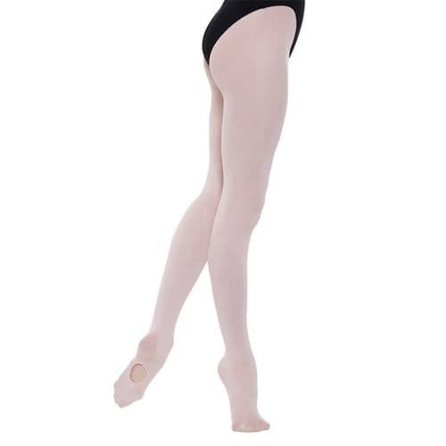 SILKY Ballet Dance Tights  Convertible Foot Pink Girls Sizes