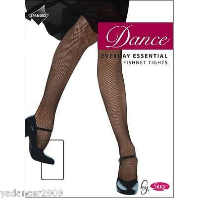 SILKY EVERYDAY ESSENTIAL  FISHNET DANCE TIGHTS Adult One Size Black or Natural