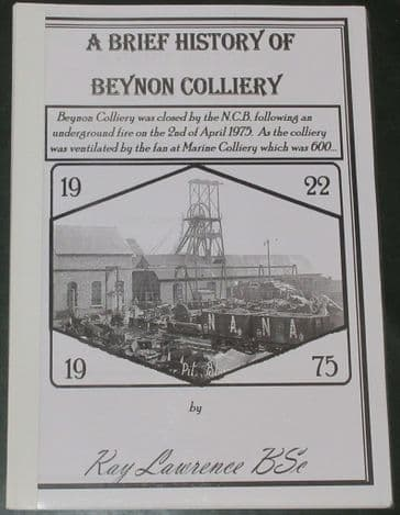 A Brief History of Beynon Colliery, by Ray Lawrence