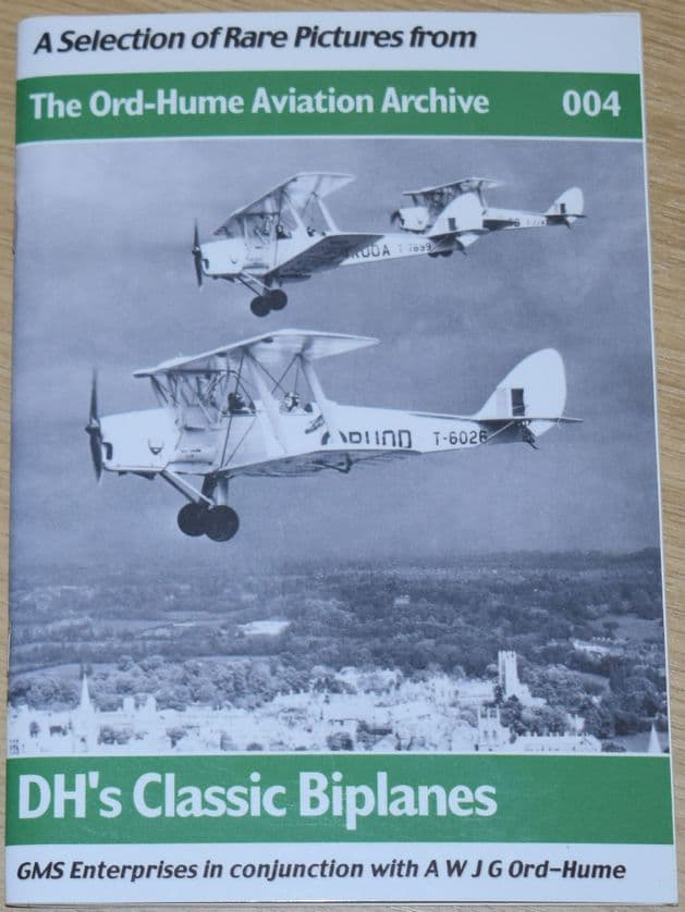 DH's Classic Biplanes - A Selection of Rare Pictures from The Ord-Hume Aviation Archive 004