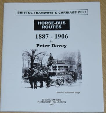 Horse-Bus Routes 1887-1906 , by Peter Davey