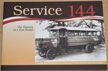 Service 144 - The History of a Bus Route (Birmingham - Worcester Route)
