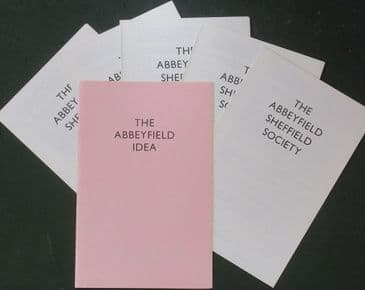 The Abbeyfield Idea (Leaflet), & 5 Abbeyfield Sheffield Society donation forms