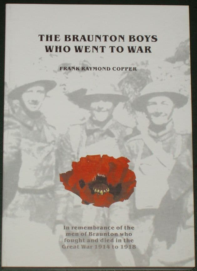 The Braunton Boys who went to War, by Frank Raymond Copper