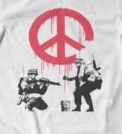 Banksy CND soldiers t shirt