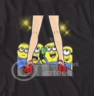 Crazy Minions Boys Night Out Party t-shirt