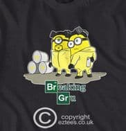 Despicable Me, Minions, Breaking Gru, Breaking Bad style funny t-shirt