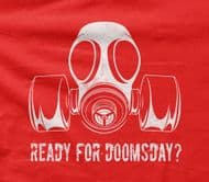 Doomsday Preppers 'Ready for doomsday?' t-shirt