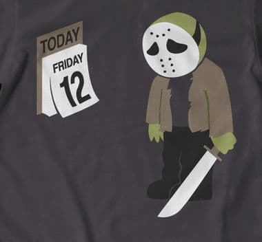 Friday the 12th funny t shirt