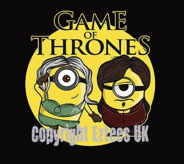 Game of Thrones Minions Funny t-shirt