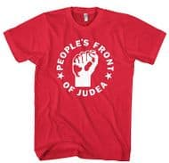 Inspired By Life Of Brian - Peoples Front Of Judea Joke t-shirt