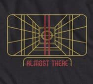 Star Wars 'Almost there' millenium falcon on target t-shirt in Black only