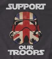 Support our Troops Stormtrooper t-shirt