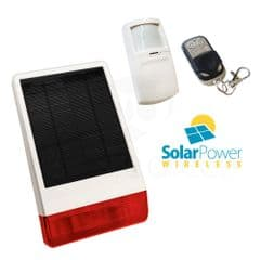 CastleGate Wireless Solar House Alarm Solution 1