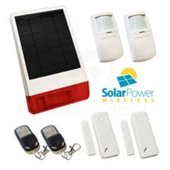 CastleGate Wireless Solar House Alarm Solution 4