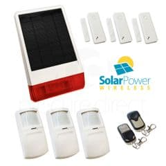 CastleGate Wireless Solar House Alarm Solution 5
