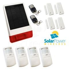 CastleGate Wireless Solar House Alarm Solution 6