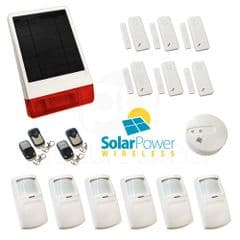 CastleGate Wireless Solar House Alarm Solution 8