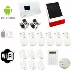 SENTRY WIFI WIRELESS IP APP CONTROLLED HOUSE ALARM ULTIMATE SOLUTION