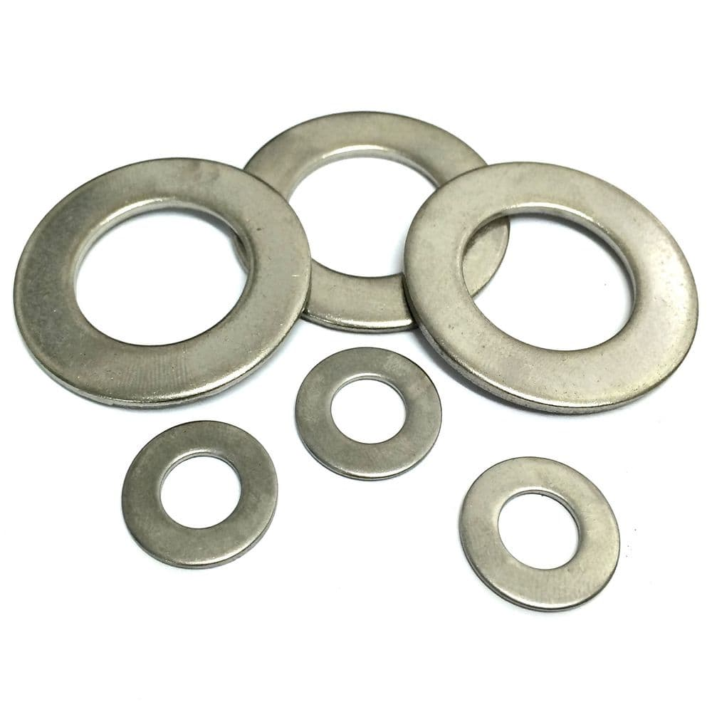 8BA Flat Washers Table 2 - 303 Stainless Steel