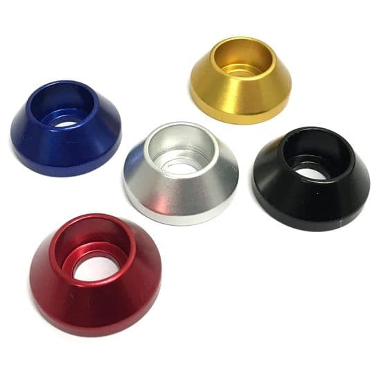 Aluminium Load Spreading Washers - Anodised Aluminium