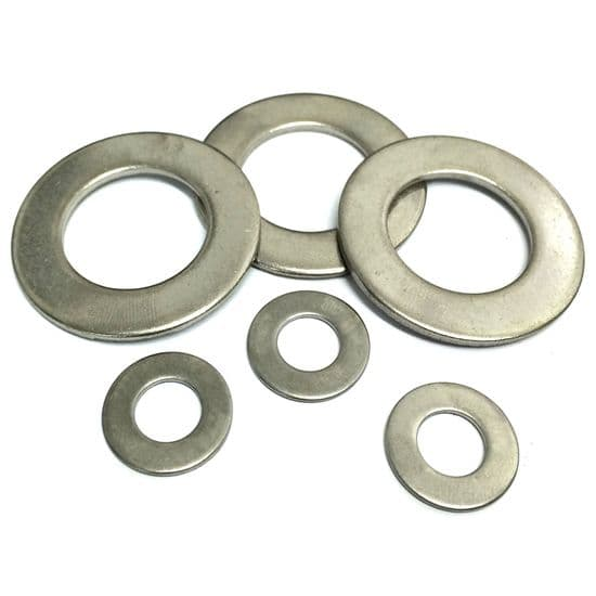 BA Flat Washers Table 2 - Bar Turned - 303 Stainless Steel