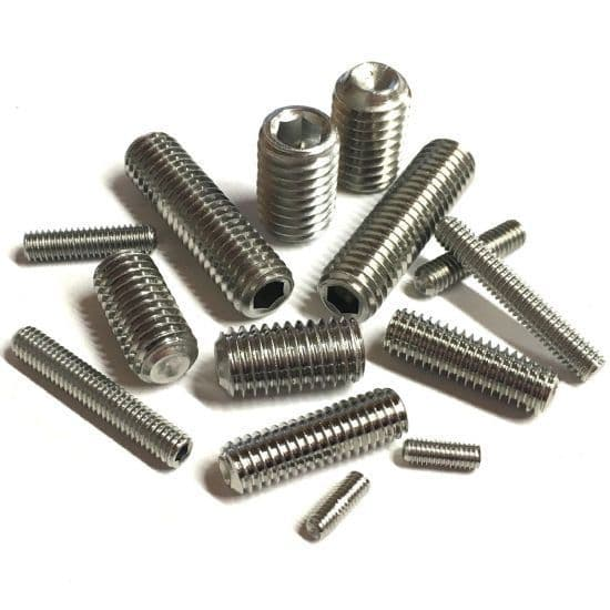 Cup Point Grub Screws