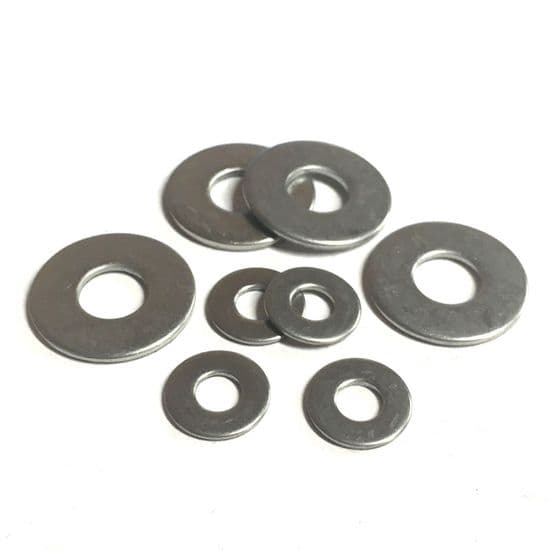 Form C Flat Washers - A2 Stainless Steel