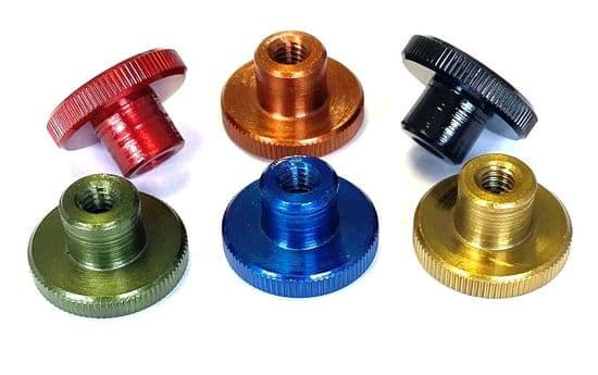 GWR Colourfast® Knurled Thumb Nuts High Type DIN 466 - A1 Stainless Steel