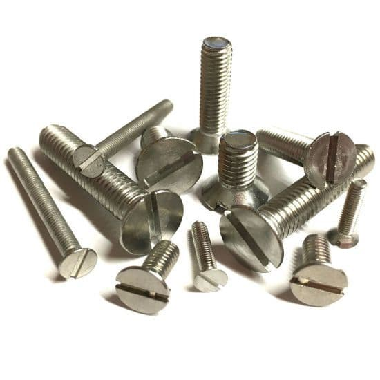 Slotted Countersunk Screws