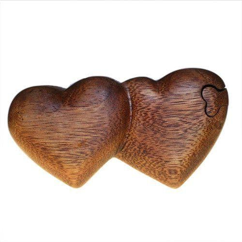 Bali Trinket Box, Twin Heart