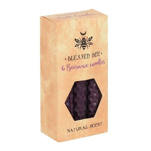 Blessed Bee Spell candles Purple Prosperity