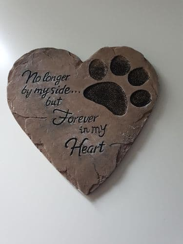 Heart Shaped Silicone Pet Plaque Mould (2)