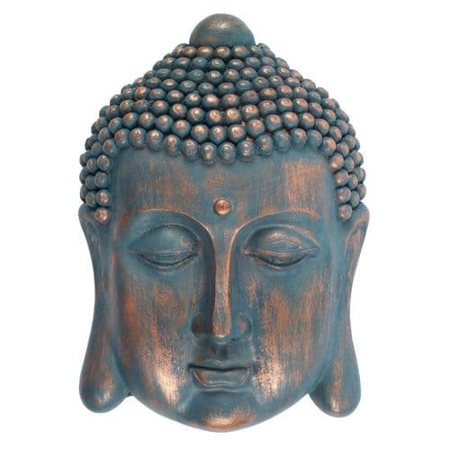 Latex Mould for a Buddha Head Plaque