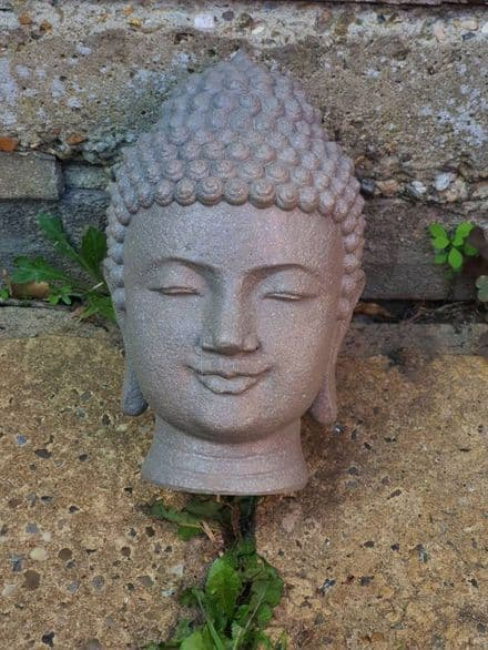 Latex Mould to create this Buddha Head Ornament