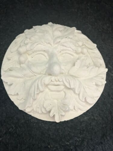 Latex Mould to Create this Green Man Plaque
