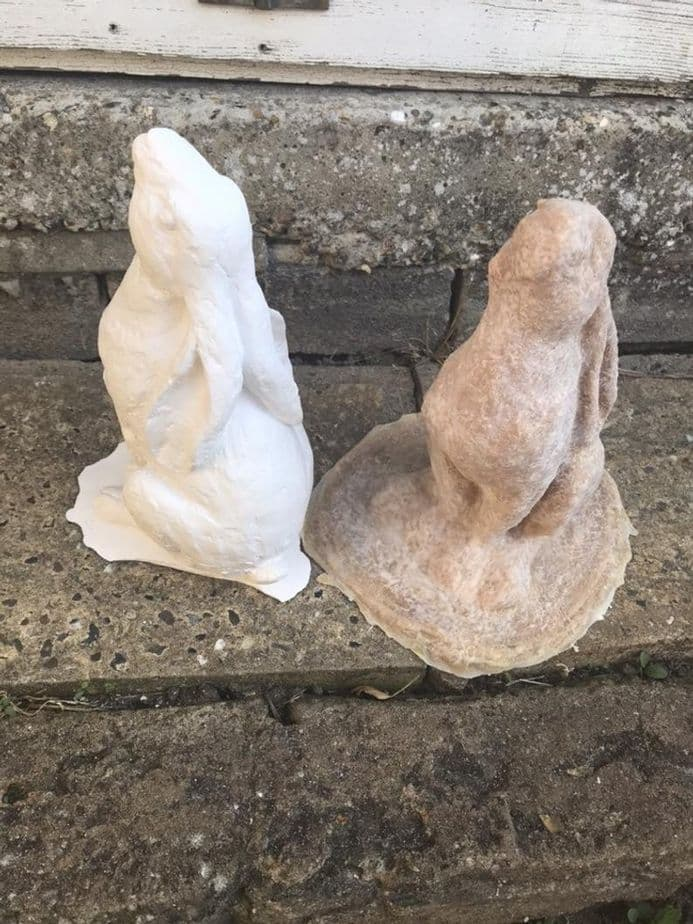 Moon Gazing Hare Latex Mould