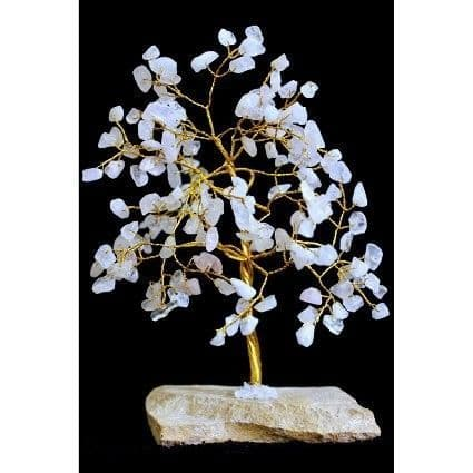 Rose Quartz Gemstone Tree (160 Stone)