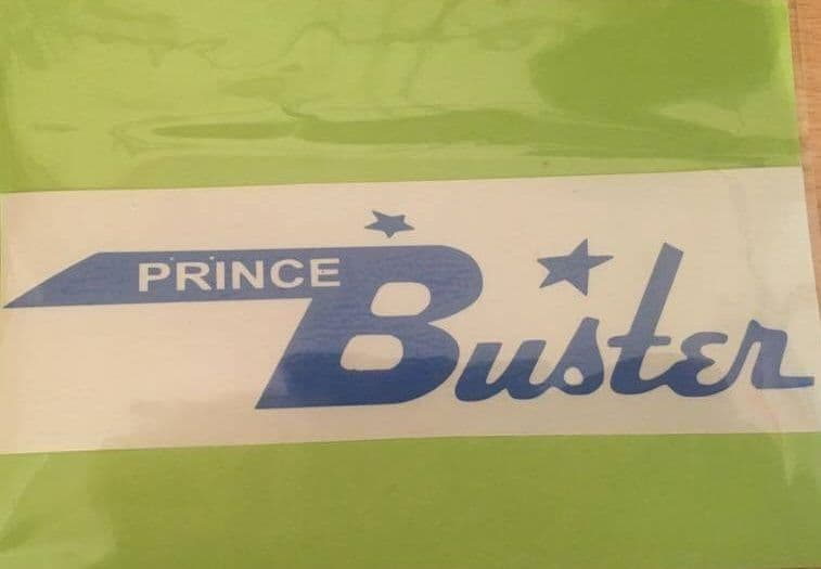 Prince Buster Sticker