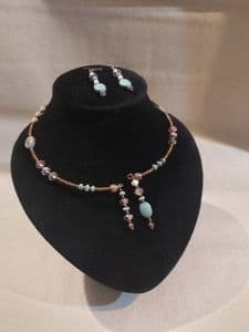 Necklace and Earring set 09