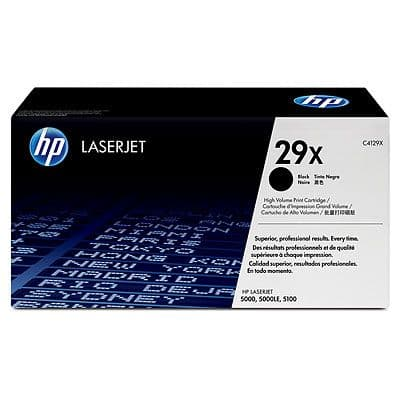 HP 29X Original Toner Cartridge (C4129X) 10,000 pages