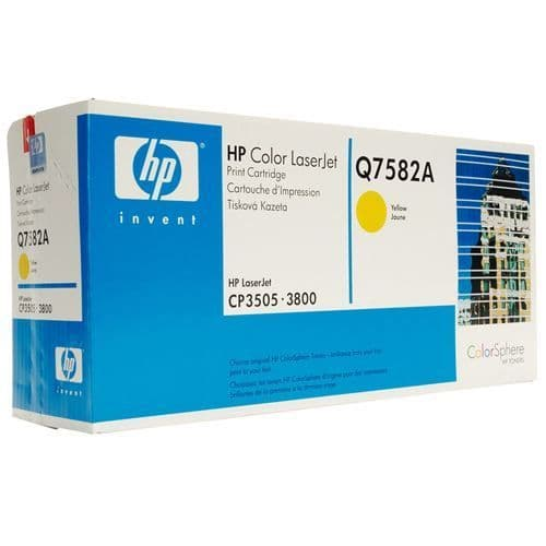 HP 503A Yellow Original Toner Cartridge (Q7582A) 6,000 pages