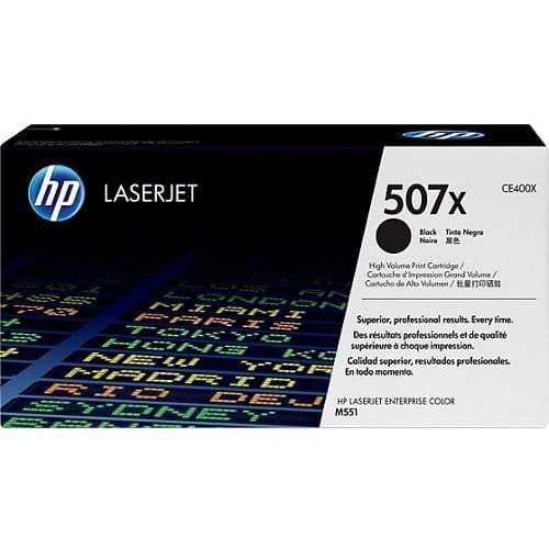 HP 507X High Capacity Black Original Toner (CE400X)