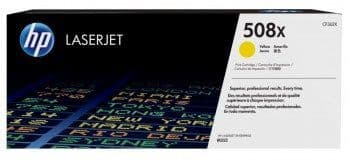 HP 508X Yellow Original Toner CF362X