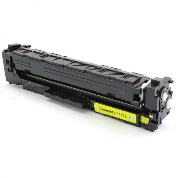 Brown Box HP 410A Yellow Toner (CF412A) 2300 pages